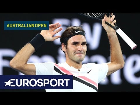Australian Open 2018: Top 5 Celebrations | Eurosport