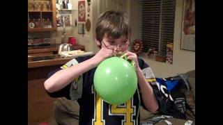 helium balloon fun
