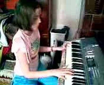 Stephanie's songs on piano