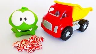 Ам Ням. Грузовик, конфеты и насекомые. Angry Birds ворует леденцы