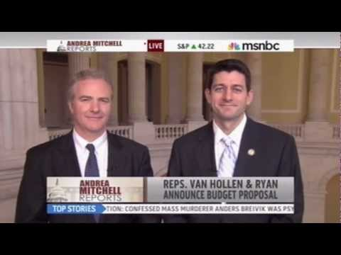 Paul Ryan & Chris Van Hollen Advance Bipartisan Budget Reform