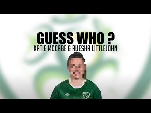 GUESS WHO | Katie McCabe and Ruesha Littlejohn