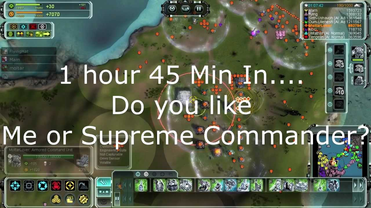 Let\'s Play Supreme Commander Forged Alliance (P1-P100) April Fools ...