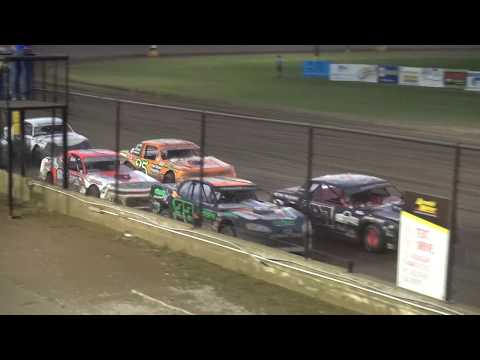 USRA Stock Car feature Fayette County Speedway West Union,IA 9/1/19