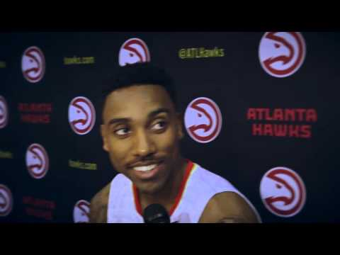 Behind The Scenes With Jeff Teague at Media Day