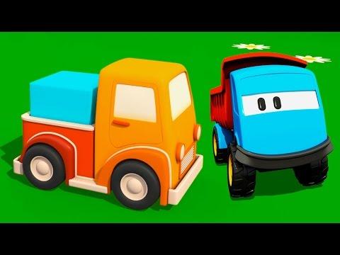 Мультики для малышей про машинки: Грузовичок Лева и Пикап - мультфильм конструктор