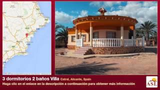3 dormitorios 2 baños Villa se Vende en Catral, Alicante, Spain