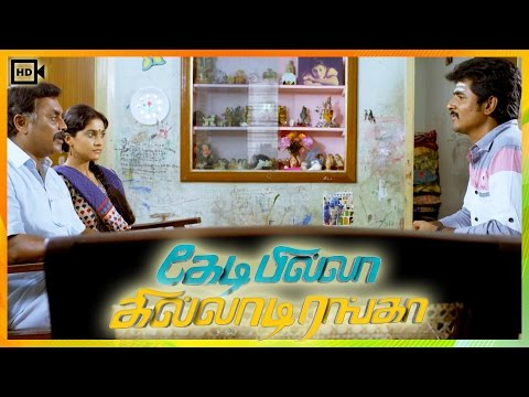 Kedi Billa Killadi Ranga Tamil Movie | Scenes | Sivakarthikeyan Meet Regina Cassandra's Father