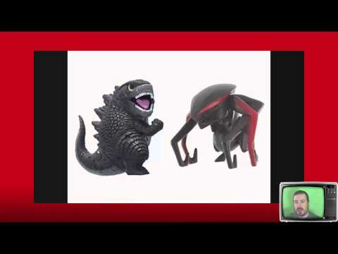 Exploring the new Godzilla films in depth character design.
