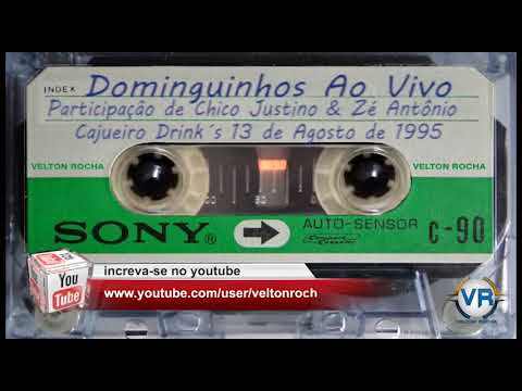 Dominguinhos Ao Vivo no Cajueiro Drinks 13 de Agosto de 1995