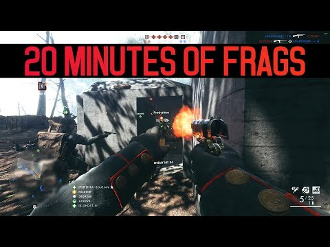 20 Minutes of Frags - Battlefield 1