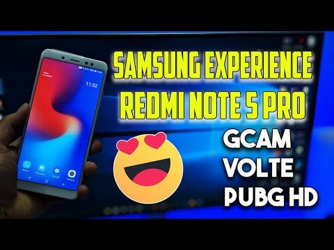 SAMSUNG EXPERIENCE ROM for Redmi Note 5 Pro