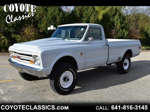 1967 Chevy 4X4 Frame Off Restored At Coyote Classics