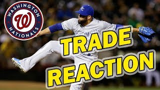 KELVIN HERRERA TRADED TO WASHINGTON NATIONALS + TRADE REACTION