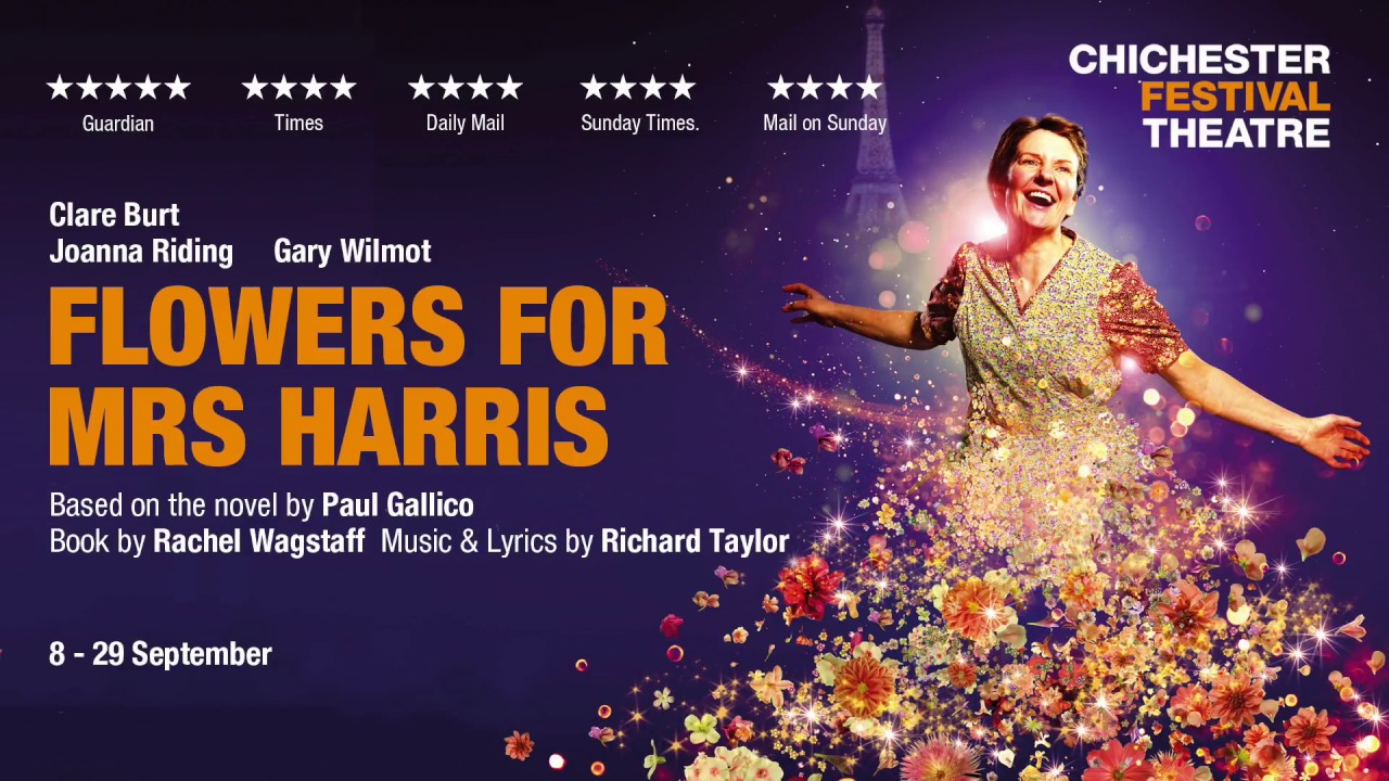 Flowers for Mrs Harris   Chichester Festival Theatre
