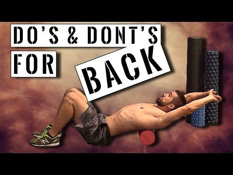 Foam Roller Do's & Dont's for BACK Health