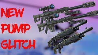 How To Double Pump Every Gun GLITCH In FORTNITE SEASON 8!!