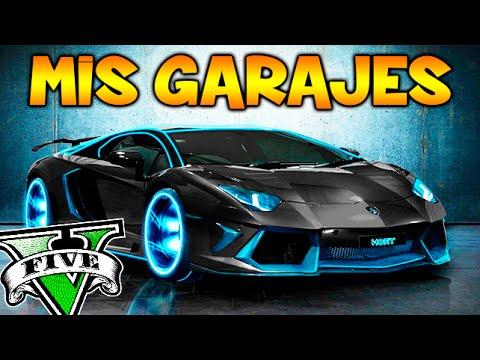 Mis garajes todos mis coches sus historias garaje gta - Garajes para coches ...