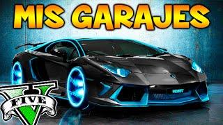 MIS GARAJES !! TODOS MIS COCHES SUS HISTORIAS!! GARAJE GTA 5 ONLINE Makiman