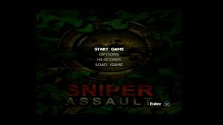 "[Ps2] Introduction du jeu ""Sniper Assault"" de l"
