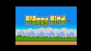 retrodemoscene plays flappy bird amiga game