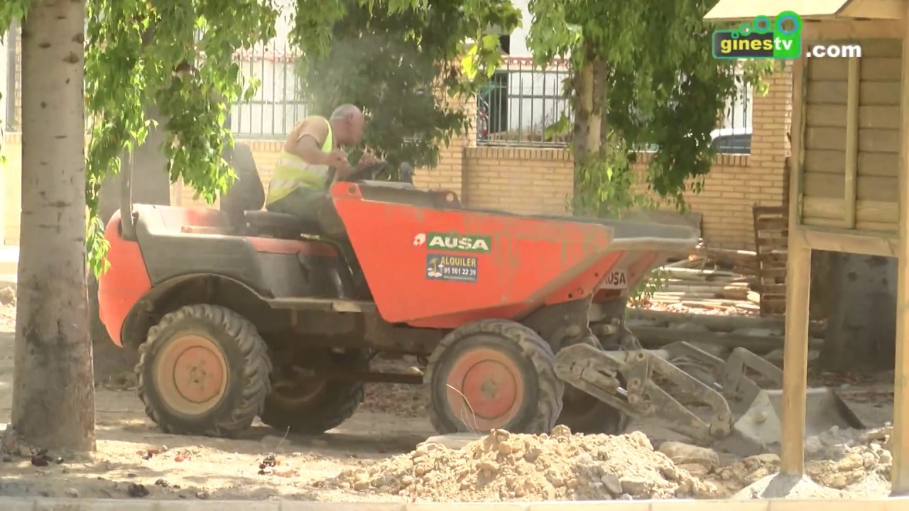 Las obras del Parque Municipal continúan con la ampliación del pozo para mejorar el riego