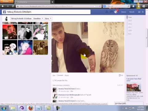 Justin Bieber Real Official Facebook Account