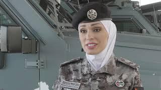 دور المرأة كبناة سلام في قطاعات الأمن الأردني