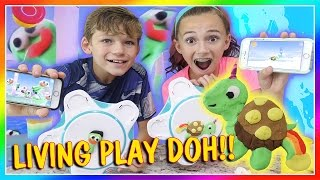 PLAY DOH COMES TO LIFE! | We Are The Davises