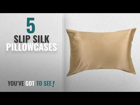 top-10-slip-silk-pillowcases-[2018]:-100%-silk-pillowcase-for-hair-zippered-luxury-25-momme-mulberry