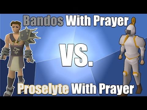 Slaying Prayer Comparison With Different Gear