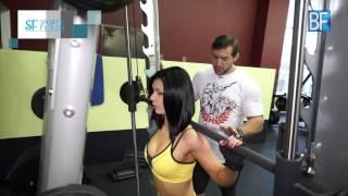 Тренировка ног для женщин от чемпиона Арнольд Классик - Сергея Халепо!