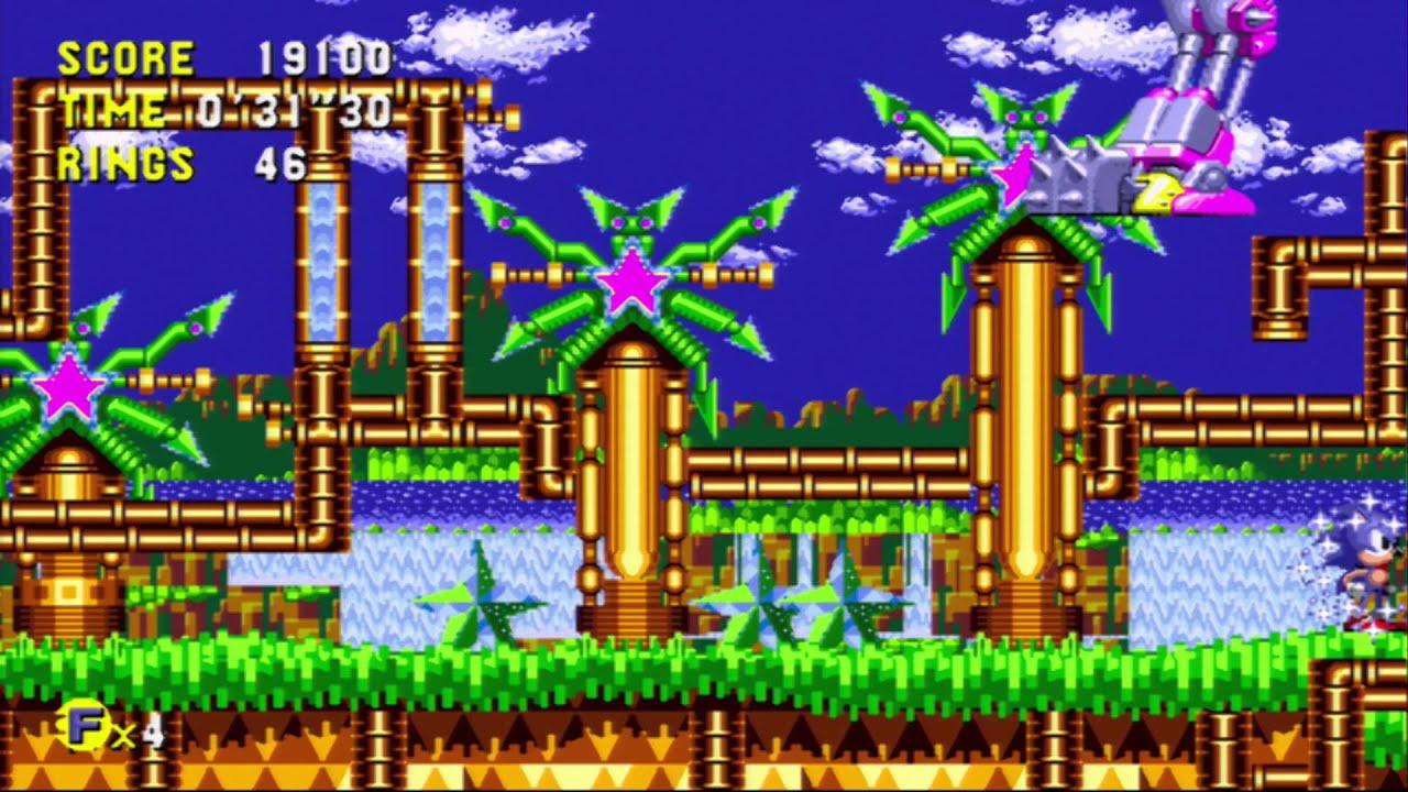 Sonic Cd Palmtree Panic Related Keywords & Suggestions - Sonic Cd