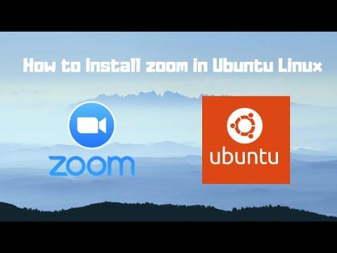 How to Install Zoom Cloud Meeting in Ubuntu Linux