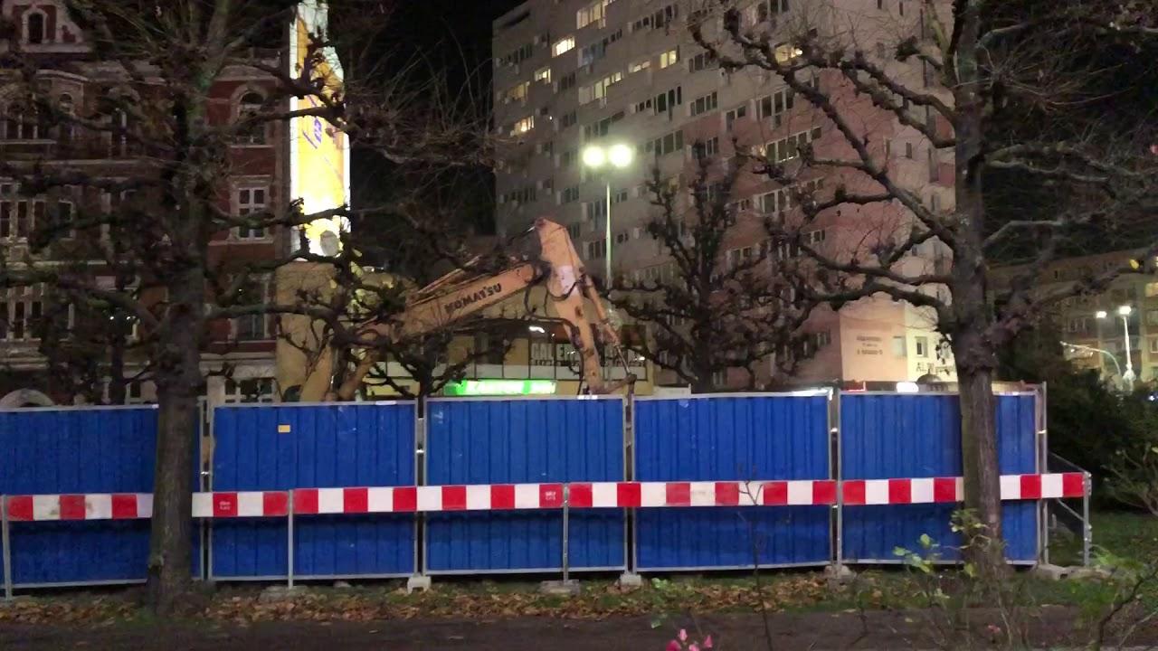 Najcudowniejszy dźwięk na świecie! Upada Pomnik Wdzięczności Armii Radzieckiej w Szczecinie!