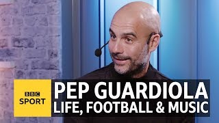 Pep Guardiola: The six songs that define my life, love, football and family | BBC Sport
