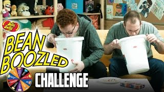 RED EATS DEAD FISH - BEAN BOOZLE CHALLENGE!! w/ Red and Barney