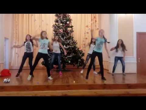Флешмоб 7-А класса. Новогодний концерт 2016