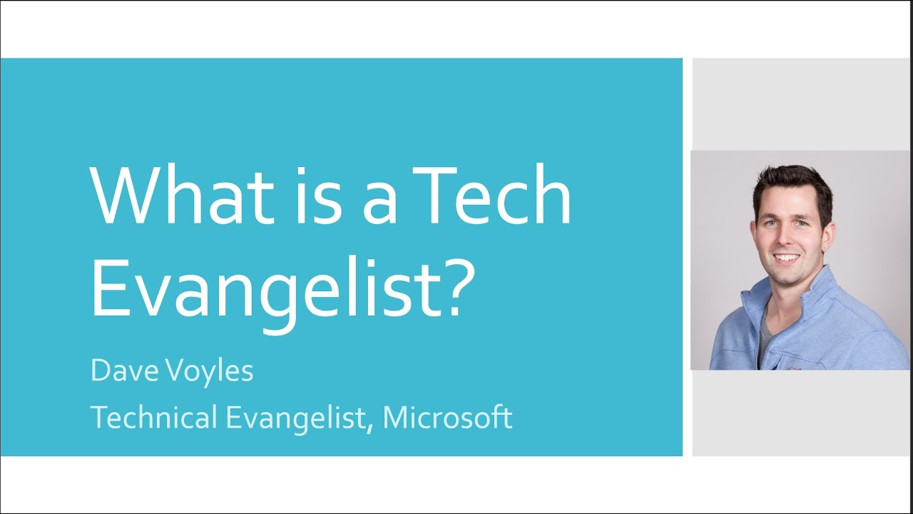 Shared services evangelists 2 0 - What Is A Technical Evangelist At Microsoft