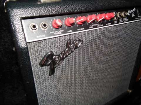 FENDER CHAMP 12 Demo THE SAVAGE (FAIR USE WARNING! SAMPLE OF Fender Champ 12)