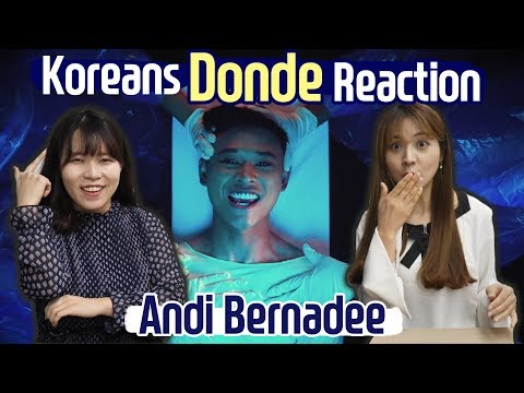 Korean React To Andi Bernadee, Donde!  + Blimey Interpretation