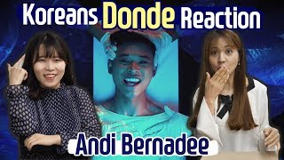 [7.44 MB] Korean React to Andi Bernadee, Donde! + Blimey interpretation
