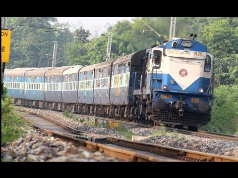 Korba Visakhapatnam exp rushes past with r alco