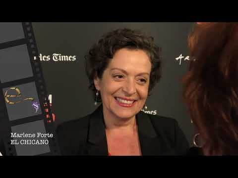 2018 Los Angeles Film Festival  Carpet Chat with Marlene Forte