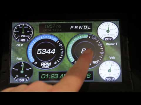 SEMA 2014 - Introducing Auto Meter's LCD Sportsman Touch Screen Dash