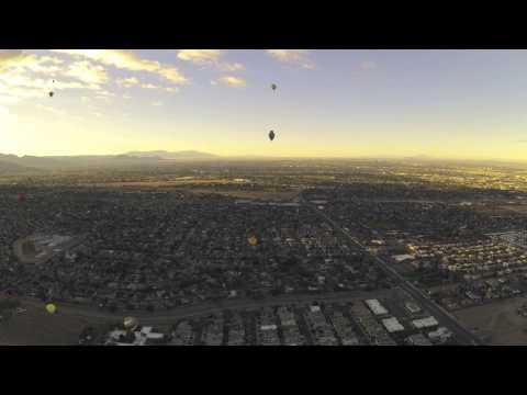 Balloon Fiesta 2012 Sat mass ascension