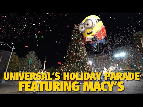 Universal's Holiday Parade Featuring Macy's Highlights | Universal Studios Florida