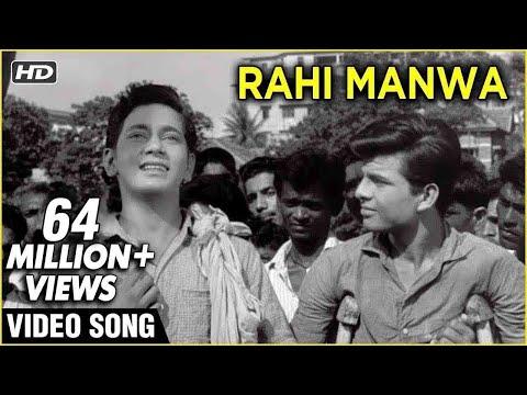 Rahi Manwa Dukh Ki Chinta - Dosti - Mohammad Rafi's Hit Song - Laxmikant Pyarelal Songs