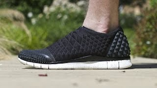 "Nike Free Orbit II SP ""Black"" (on feet)"