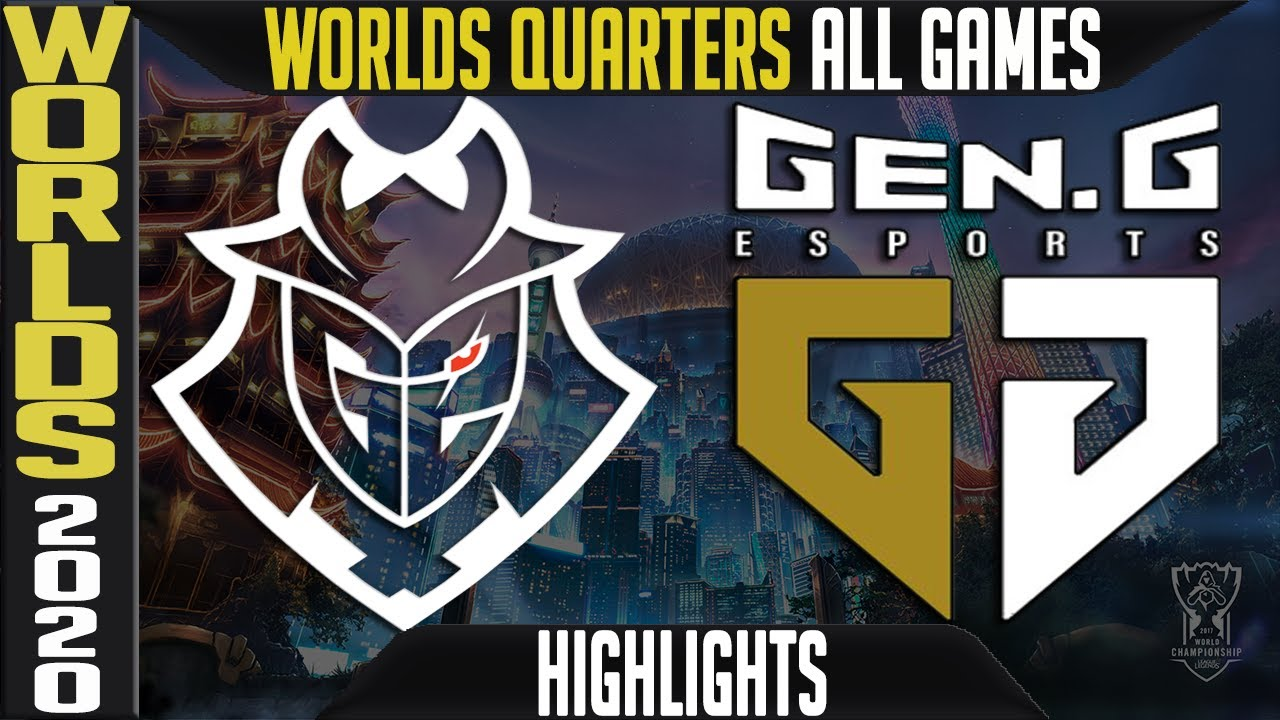 G2 vs GEN Highlights ALL GAMES | Quarterfinals Worlds 2020 Playoffs | G2 Esports vs Gen.G